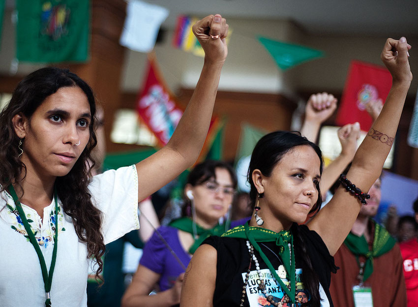 Conference La Via Campesina - 8 june - Youth assembly
